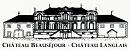 Logo Ch Beauséjour & Ch Langlais2