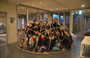 Todd and Hagino 151210 - 06 bamboo workshop at VK DSC_7531