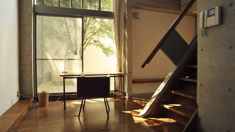 Intérieur d'un studio