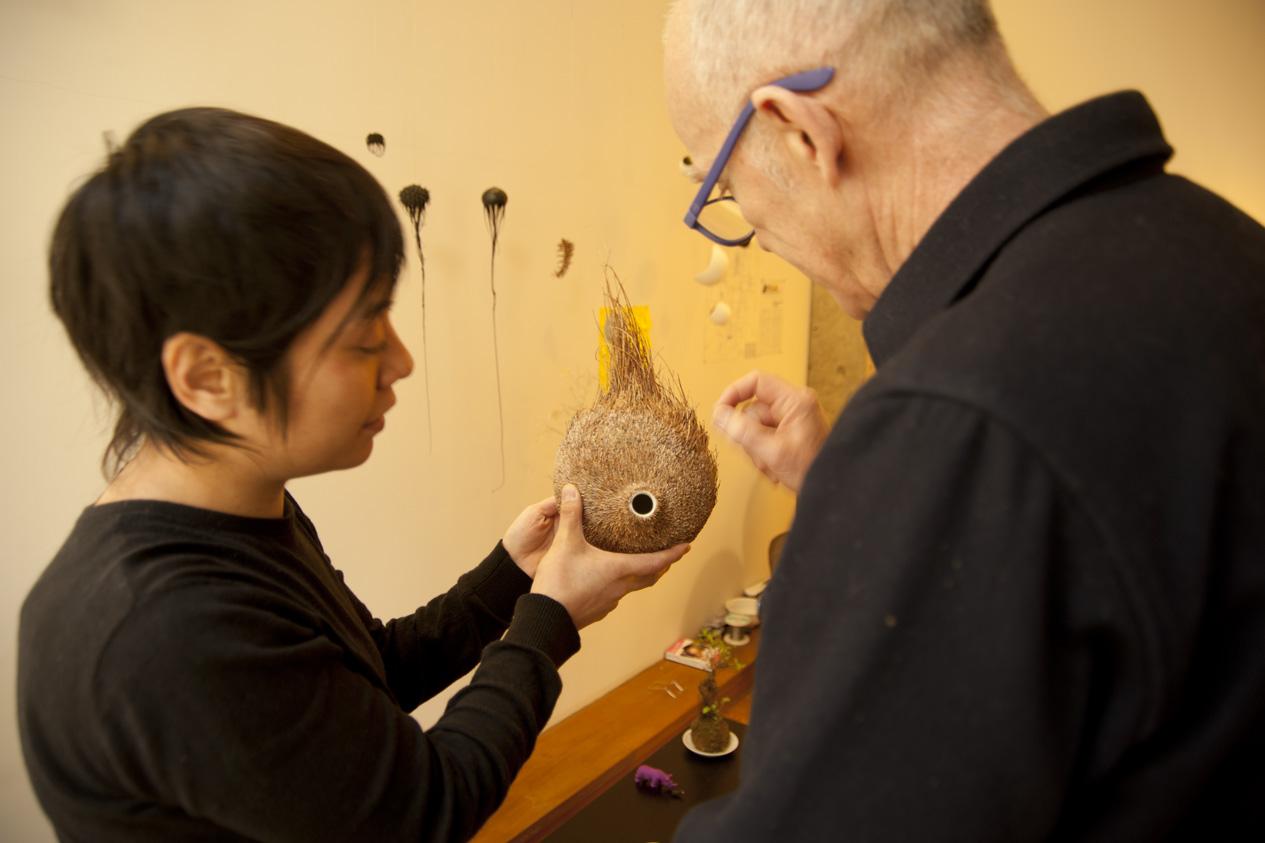 Mylinh Nguyen. Visite d'atelier