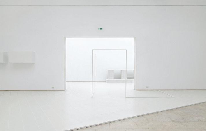 Intérieurs, Notes et Figures, vue de l'exposition, Venise, 2014