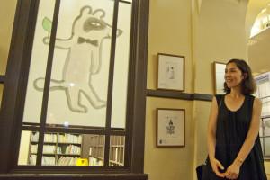 Iris de Moüy - Manga museum Crédit photo Arnaud Rodriguez