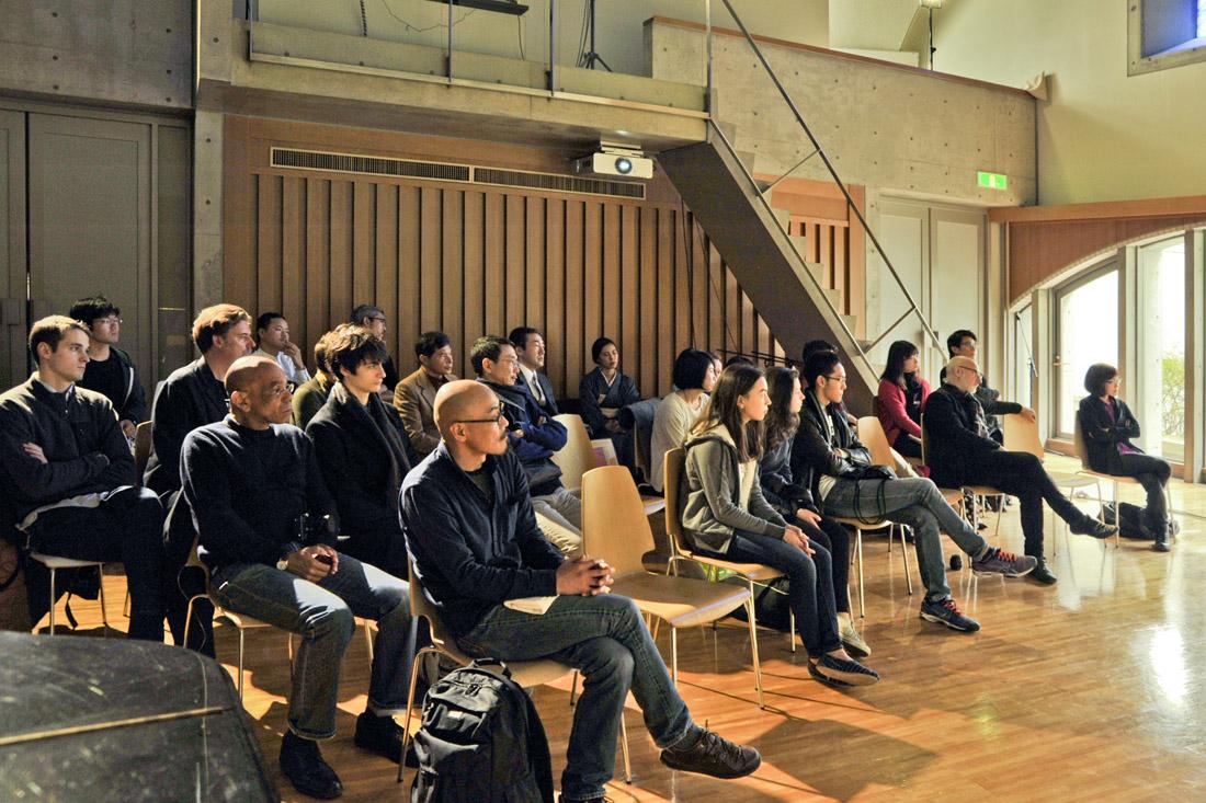 Conférence Emmanuel Burdeau - Nobuhiro Suwa.