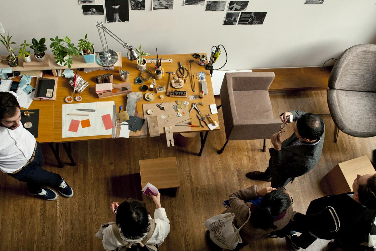 Atelier de Karl Mazlo