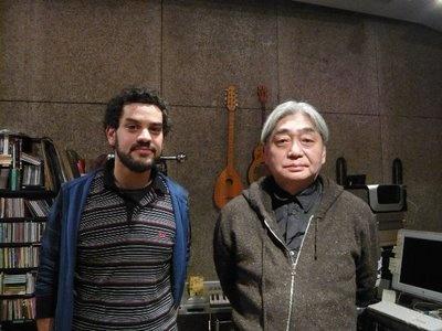 Olivier Lamm avec Haruomi HOSONO