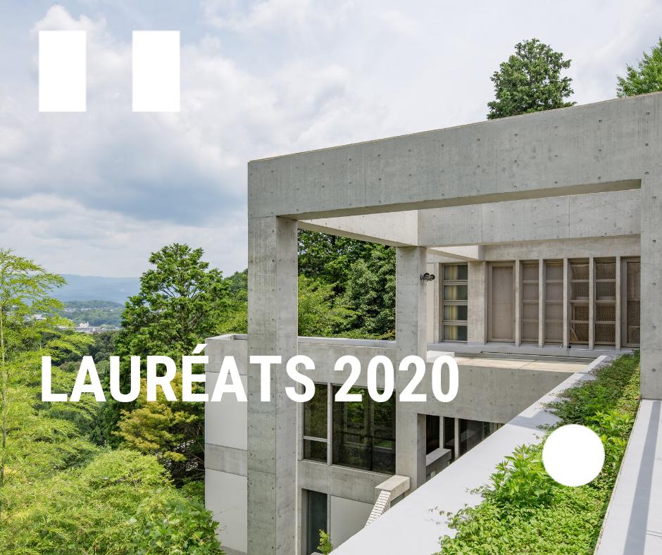 Lauréats Villa Kujoyama 2020