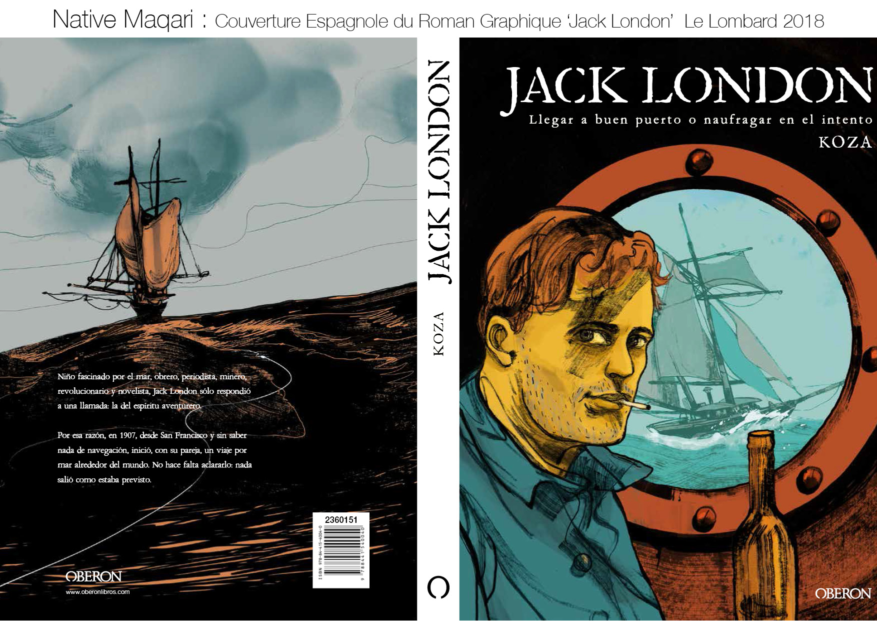 Native Maqari_Couverture Jack London_2018