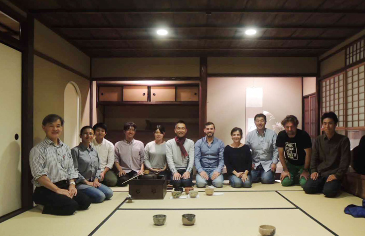 todd hagino 151106-tea-reception-at-Kyoto-Architectural-College