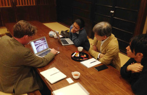 Todd and Hagino 15:11:12 meeting yoshiyamachi machiya of kyoto arch