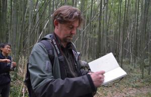 Todd and Hagino 15:11:23 bamboo picking up at ishida Farm