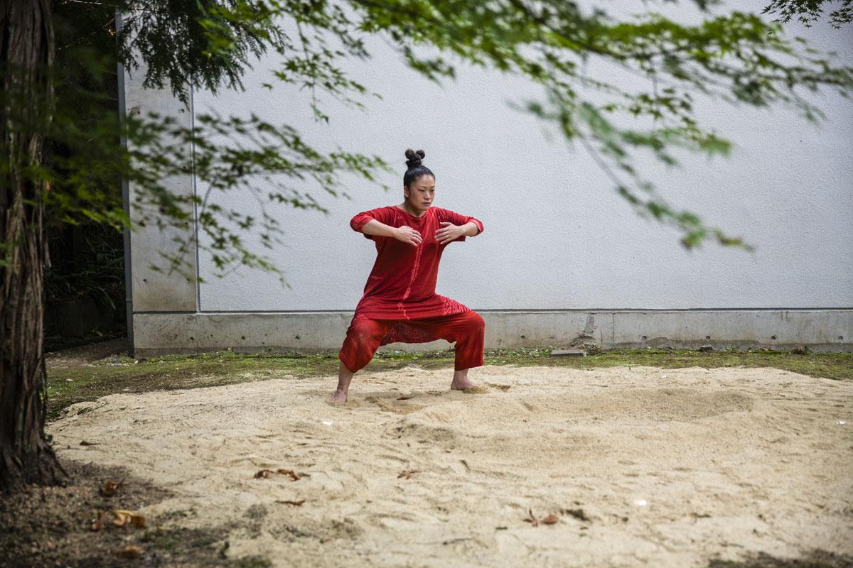 Hiroko Tamura. Chorégraphie de Susan Buirge