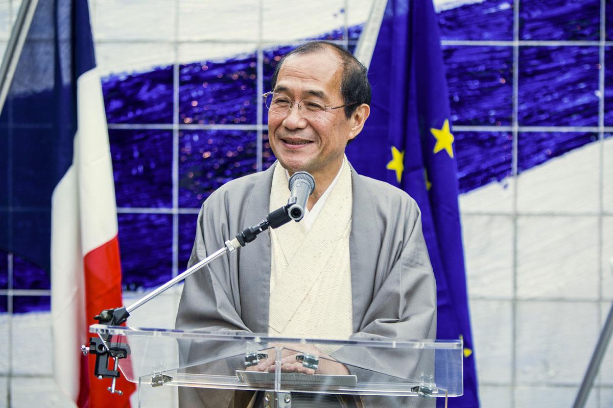 M. Kadokawa, maire de Kyoto