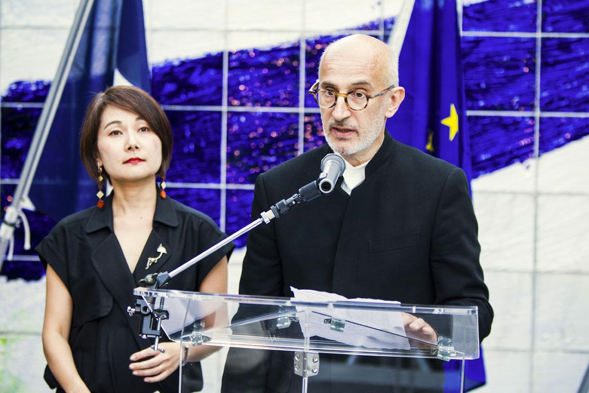 Sumiko Oé-Gottini, Christian Merlhiot