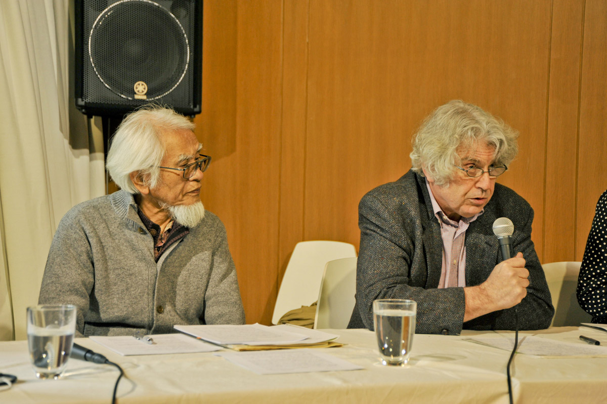 Kunio Kato et Michel Wasserman