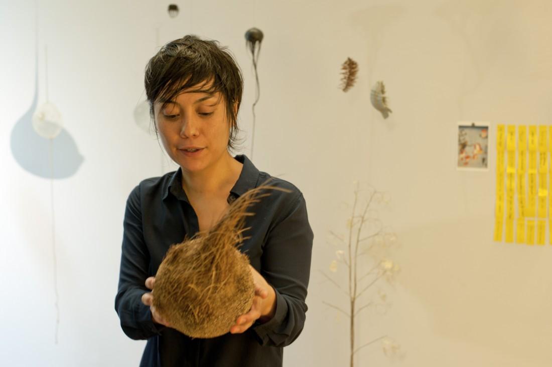 Mylinh Nguyen. Visite d'atelier. Villa Kujoyama
