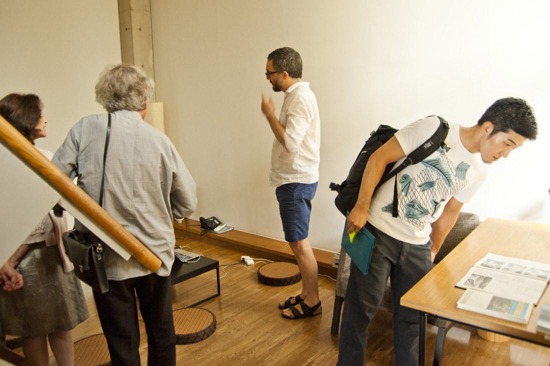 Vincent Romagny. Visite d'atelier. Villa Kujoyama