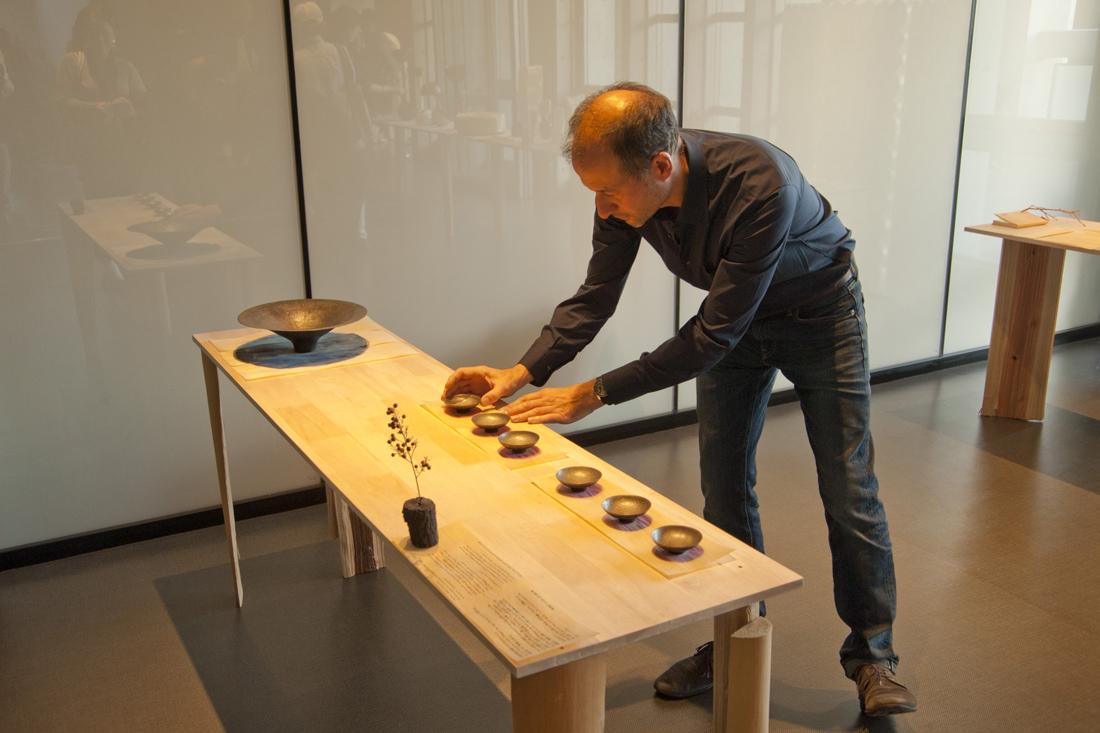 François Azambourg. Travail de Kosuke Kato.