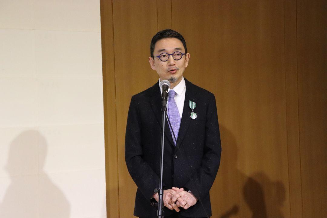 VK2019_Remise insignes Tetsuya Ozaki villa kujoyama (16)