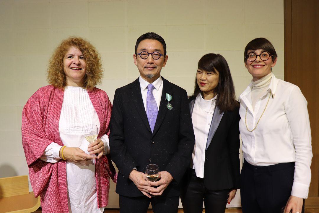 VK2019_Remise insignes Tetsuya Ozaki villa kujoyama (4)