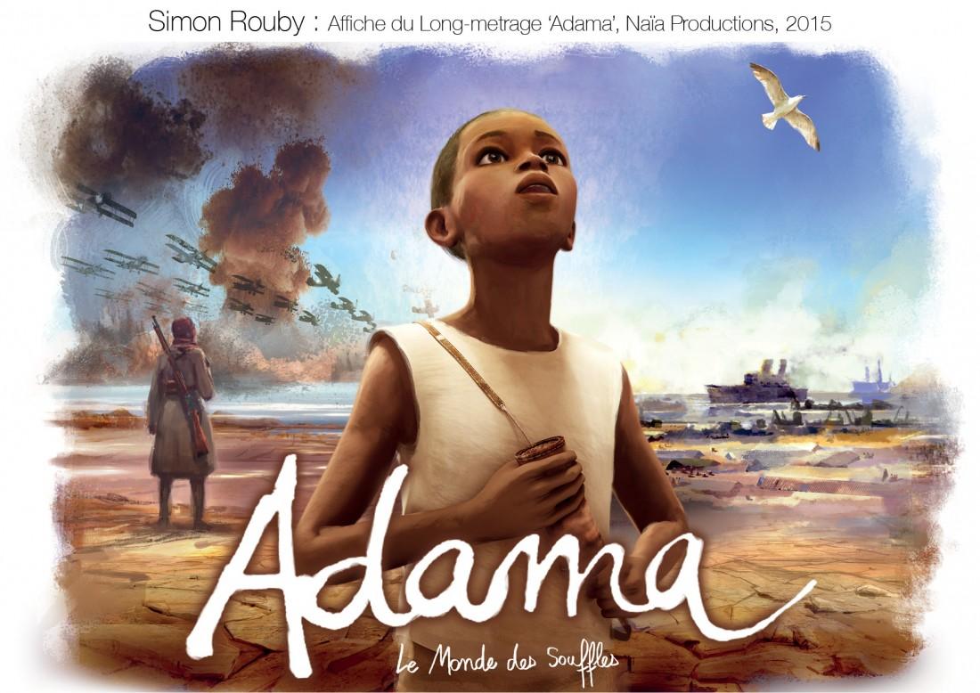 Simon Rouby_affiche du long metrage Adama_2015