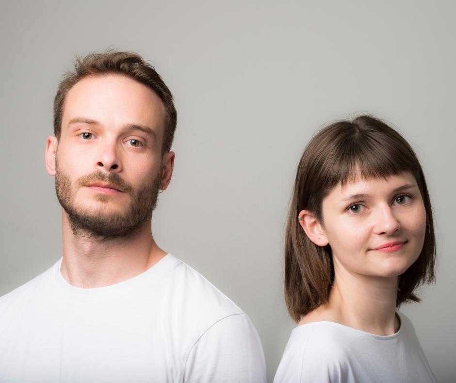 Natacha Poutoux et Sacha Hourcade_portrait_credit Romain Robine